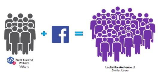 Use Facebook Lookalike audience: