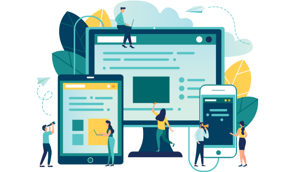 Website development for lead generation
