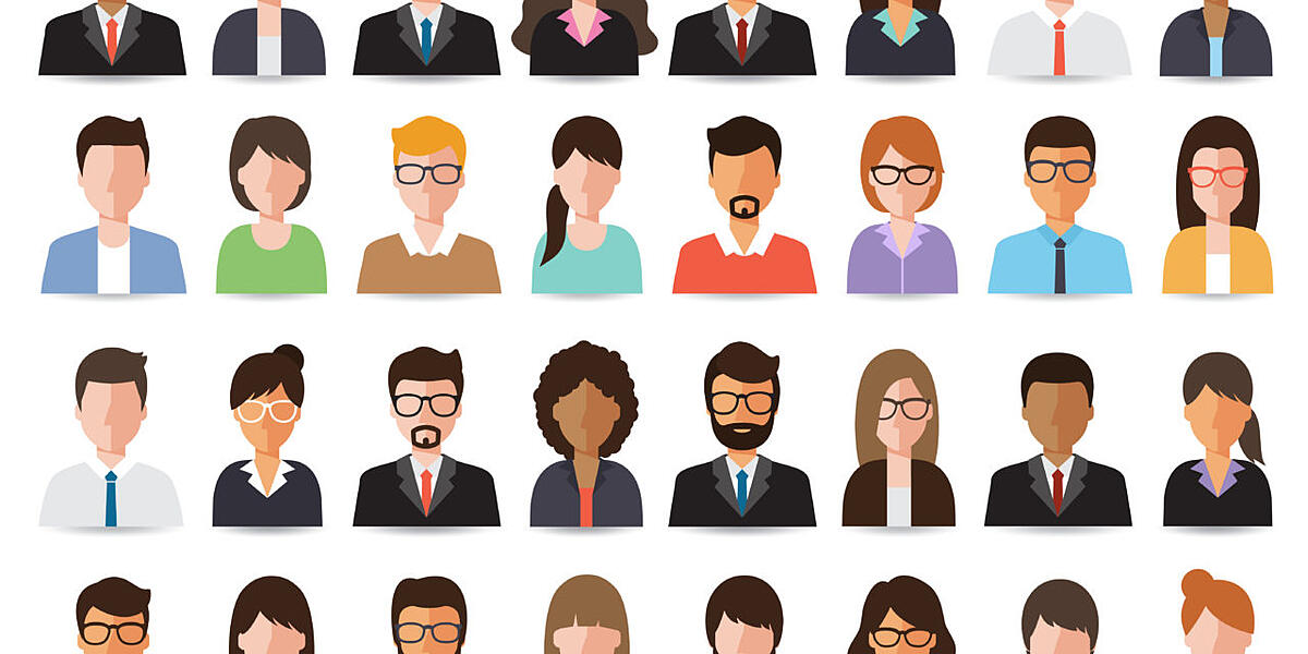 buyer persona headshots