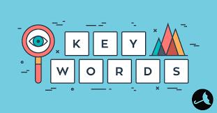 Relevant keywords for website
