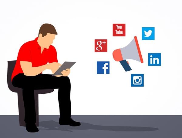 content on social media