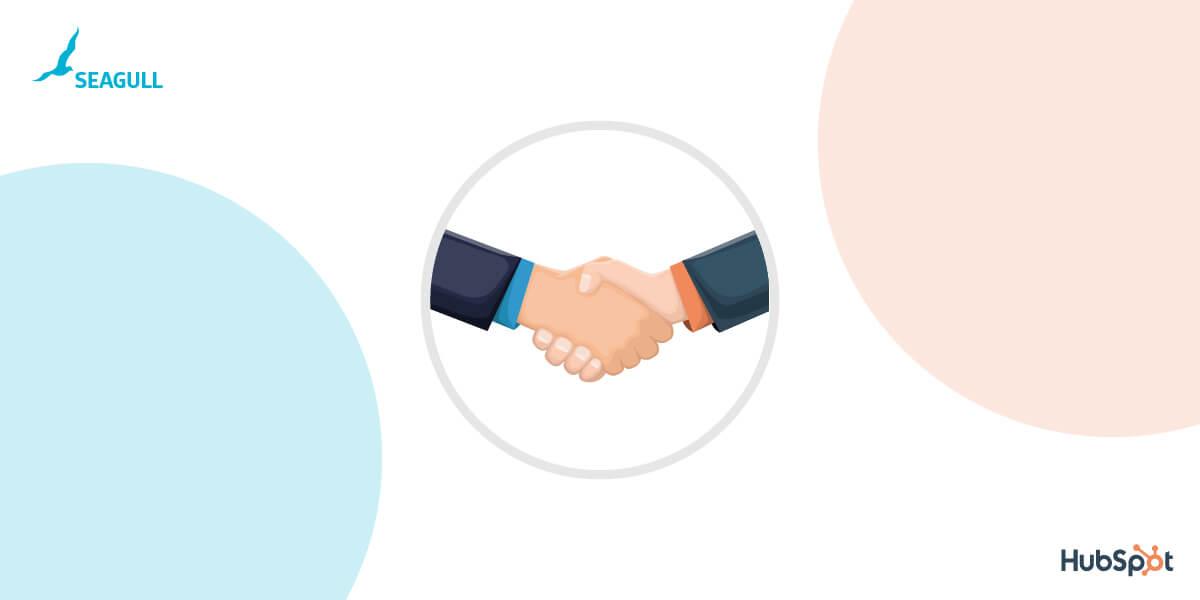 seagull & hubspot partnership